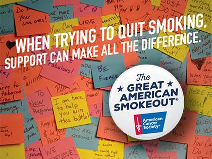 Great American Smokeout Update